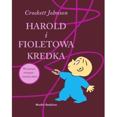 Harold i fioletowa kredka. Wydanie polsko-angielskie, książka w oprawie twardej