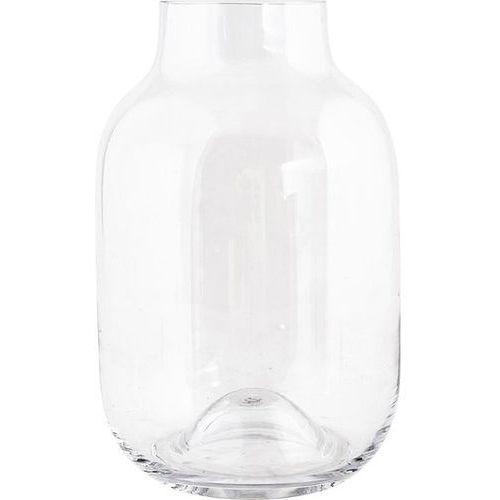 House doctor Wazon shaped 32,5 cm transparentny (5707644459588)