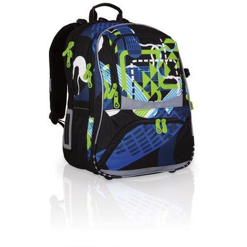 Plecak szkolny  chi 706 a - black wyprodukowany przez Topgal