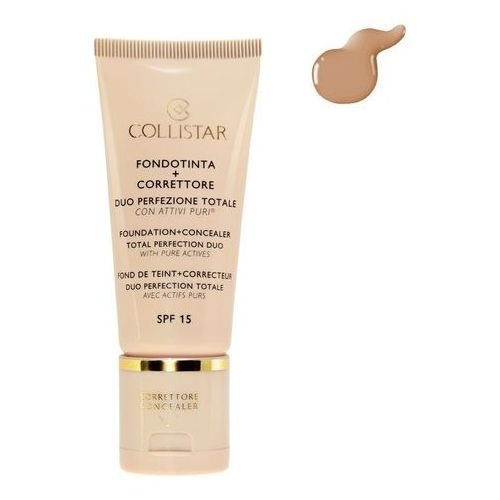 , fondation + concealer spf15. podkład i korektor do twarzy, 3.1, 30ml - collistar darmowa dostawa kiosk ruchu marki Collistar