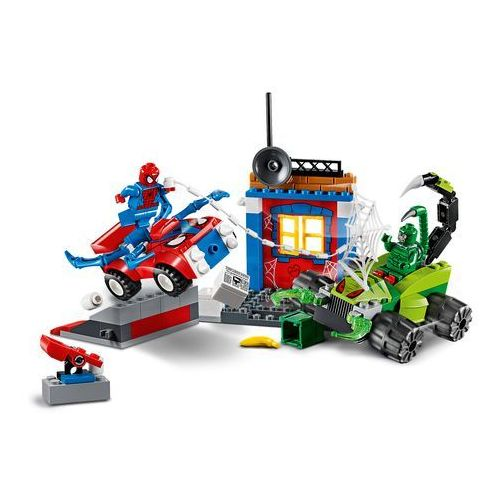 10754 SPIDER-MAN KONTRA SKORPION (Spider-Man vs Scorpion Street Showdown) - KLOCKI LEGO JUNIORS