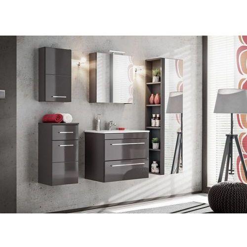 Zestaw mebli łazienkowych twist grey set 60 cm marki Comad