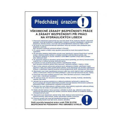 Zapobiegaj urazom - ogólne zasady bezpieczeństwa pracy i zasady bezpieczeństwa pracy na prasach hydraulicznych wyprodukowany przez B2b partner