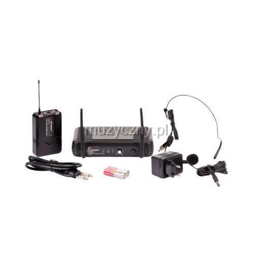 Karsect  wr-25/pt-25/ht-9a mikrofon bezprzewodowy nagłowny (zmienna częstotliwość)