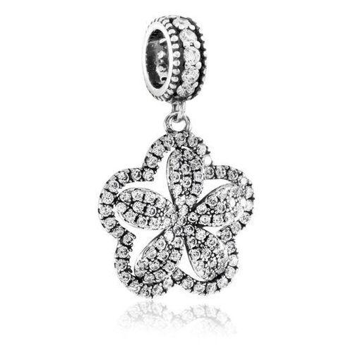 Charms koralik srebrny kwiat liryczny marki Murrano