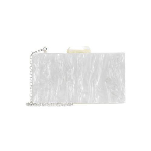 PARFOIS PARTY BOX PEARLY Kopertówka white, kolor biały