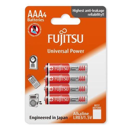 4 x bateria alkaliczna Fujitsu Universal Power LR03 AAA blister