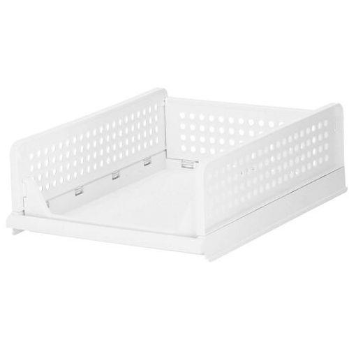 Organizer do szafy 14 cm wielofunkcyjny pojemnik na ubrania biały (5907719416083)