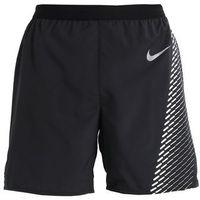Nike Performance Krótkie spodenki sportowe black/black/reflective silver, S-XXL