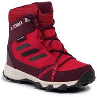 Adidas Buty - terrex snow cp cw k g26588 actmar/cblack/maroon