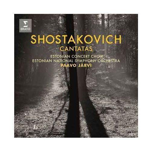 Warner music Shostakovich cantatas - estonian national symphony orchestra, paavo jarvi (płyta cd)