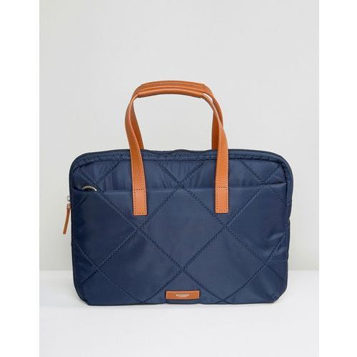 talbot laptop briefcase with rfid protection - navy marki Knomo