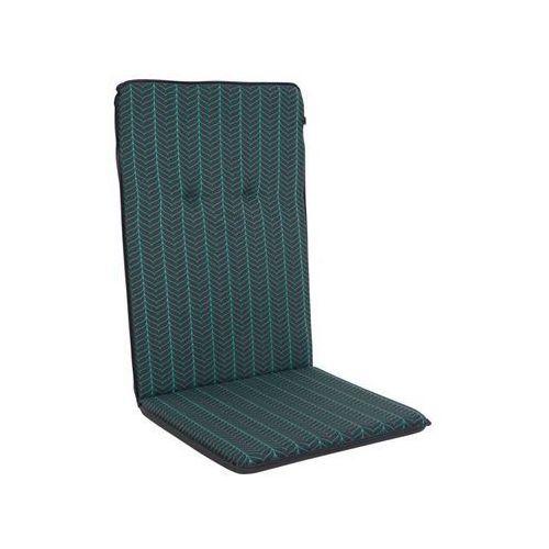Poduszka na krzesło 50 x 115 x 4 cm MONA antracytowa PATIO