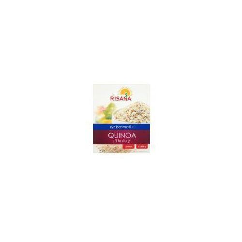 Ryż basmati z Quinoą 3 kolory Risana 2x100 g