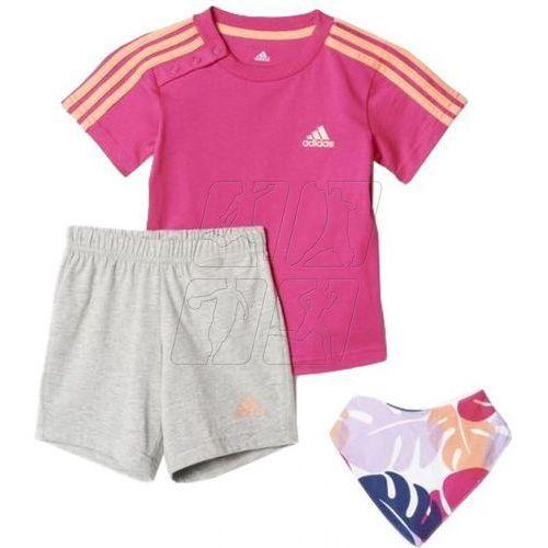 Komplet adidas Dres I Summer Gift Pack Kids AJ7358, kolor różowy