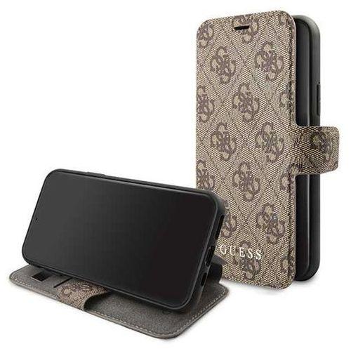 Guess guflbksn584gb iphone 11 pro brown/brązowy book 4g - brązowy (3700740461785)