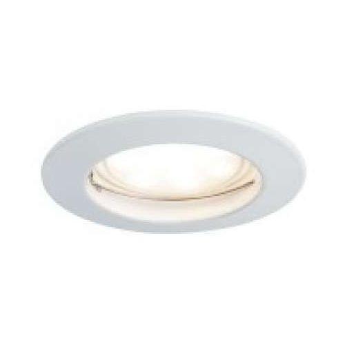 Oprawa do wbudowania LED Moneta satynowana okrągła 7 W biały 1-częściowy zestaw, ściemnialny, PAULMANN 93955