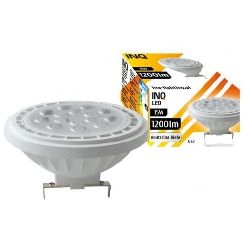 Żarówka LED G53 AR111 15W 4000K INQ Lighting AR040NW