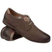 Krisbut Półbuty sznurowane buty 4615a-3-1 - brązowy