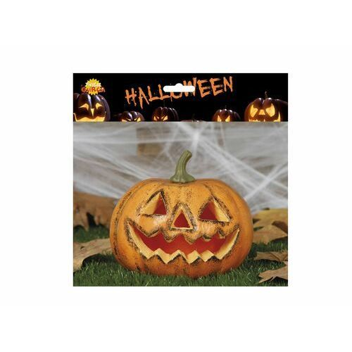 Lampion dynia na Halloween - 19 cm - 1 szt.