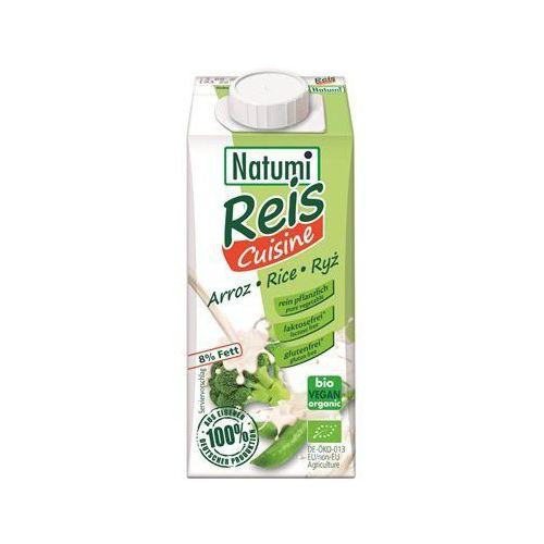 Zagęszczony produkt ryżowy (śmietanka) bezglutenowy BIO 200 ml Natumi