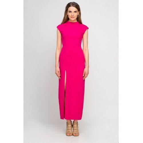 Sukienka Model SUK140 Fuksja, kolor różowy