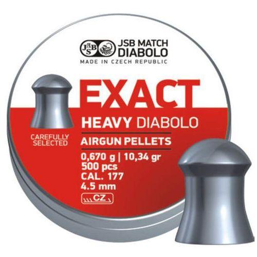 Śrut JSB Diabolo Exact Heavy 4.52mm 500szt (546267-500)