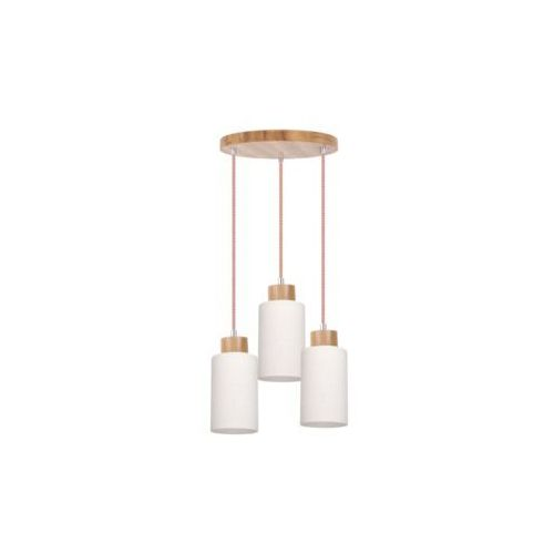 SPOT-LIGHT BOSCO Lampa wisząca Dąb/Czerwono-biały 3XE27-60W 1715570, 1715570
