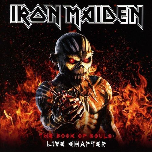 The book of souls: live chapter - iron maiden (płyta cd) marki Warner music