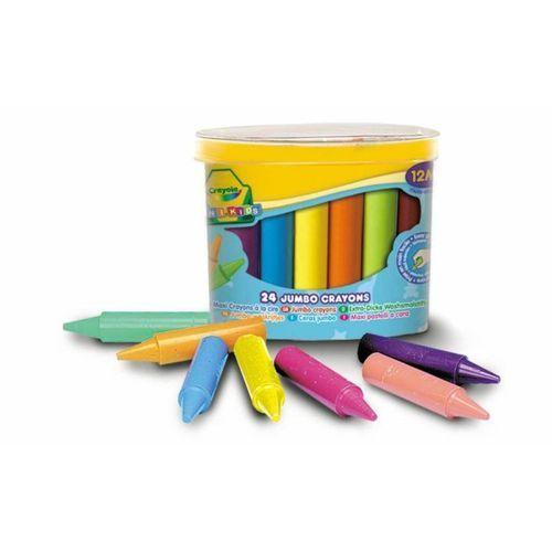 Kredki świecowe Crayola Mini Kids 24 sztuk