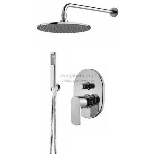 glam kompletny zestaw prysznicowy deszczownica słuchawka glamzes20 marki Armando vicario