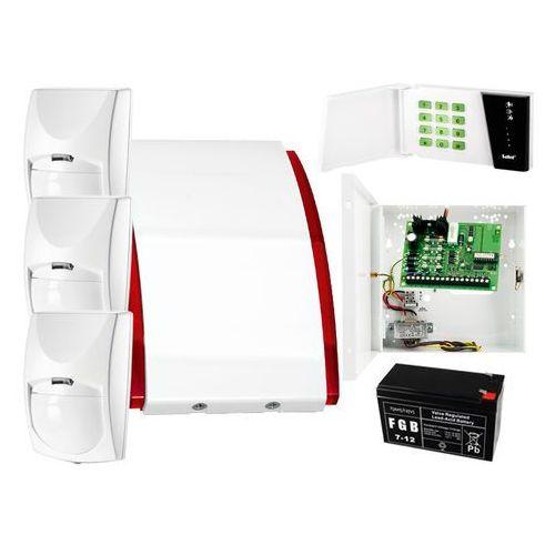 System alarmowy: płyta główna ca-4 vp + manipulator ca-4 vkled + 3x czujnik ruchu + akcesoria marki Satel set