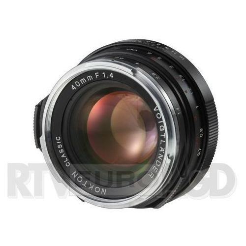 Voigtlander Nokton Classic 40 mm f/1,4 do Leica M - SC, 11755