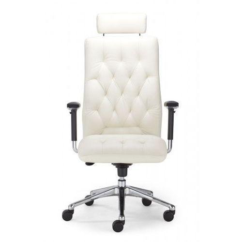 Fotel gabinetowy chester hru r23p2 steel28 chrome - biurowy, krzesło obrotowe, biurowe marki Nowy styl