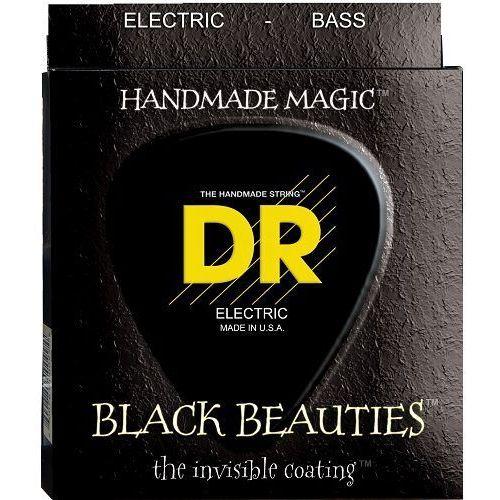 DR K3 BLACK BEAUTIES - struny do gitary basowej, 5-String, Coated, Heavy,.050-.110