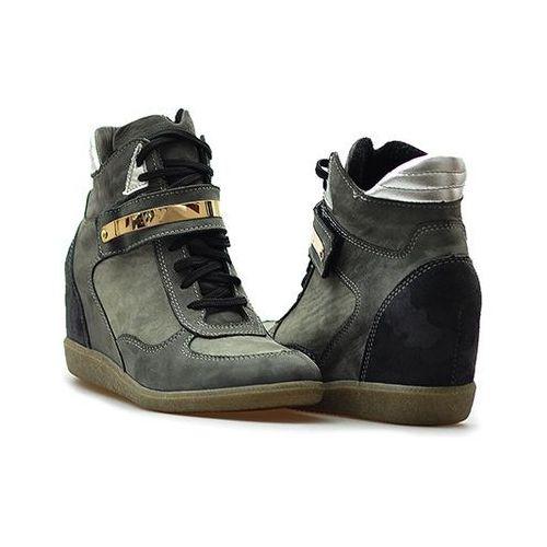 Sneakersy 00370 szare lico, Simen