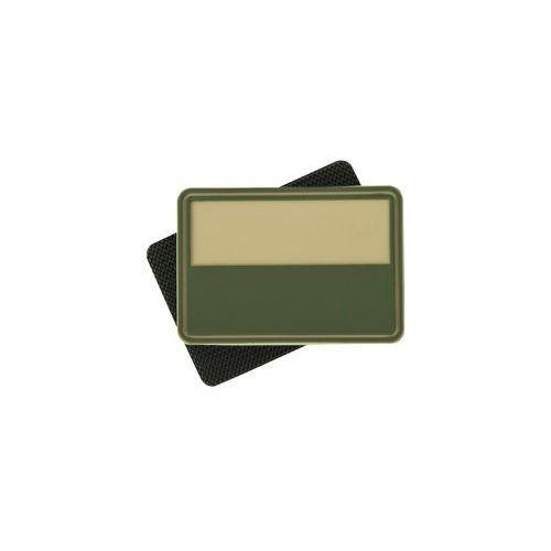 naszywka Helikon flaga PL kpl. 2szt. PVC beż (OD-FPL-RB-13) (5908218709867)