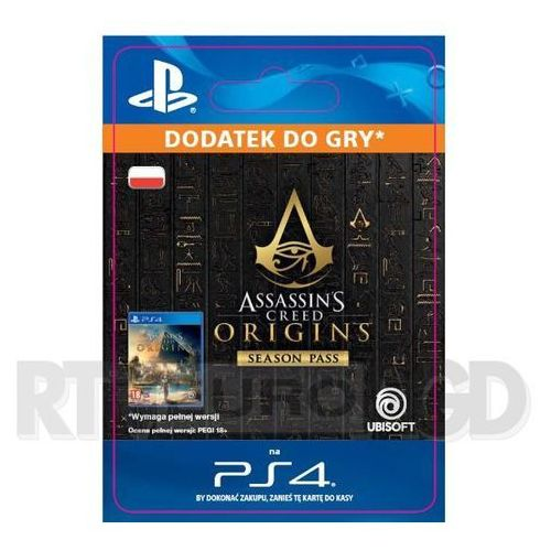 Assassin's creed origins - season pass [kod aktywacyjny] marki Sony
