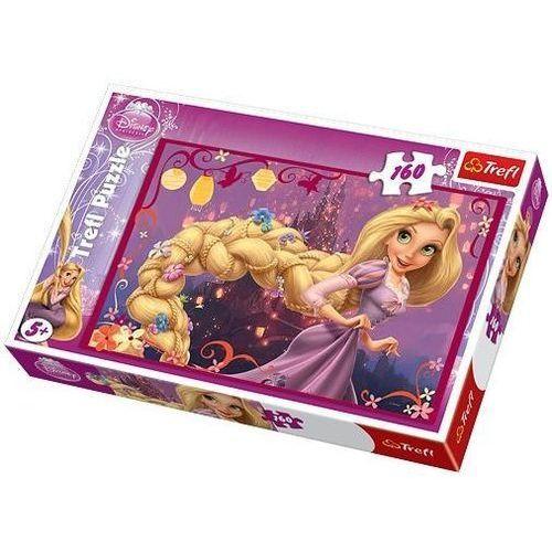 Trefl Puzzle 160 zaplątani warkocz roszpunki