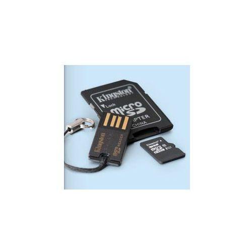 Kingston Karta pamięci microsdhc z adapterem sd i usb 32gb