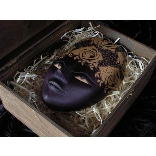 Wyspa java Salonowy prezent rzeźba maska godnego życia