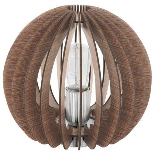 Lampa stołowa cossano brązowa, 94956 marki Eglo