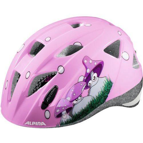 Alpina ximo kask rowerowy różowy/kolorowy 45-49cm 2018 kaski rowerowe (4003692231291)