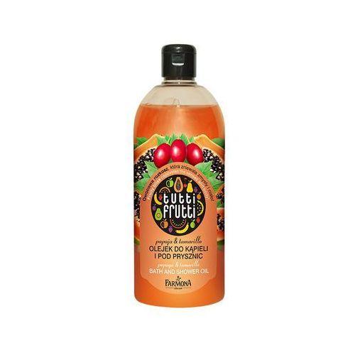 Papaja & tamarillo olejek do kąpieli i pod prysznic wyprodukowany przez Tutti frutti