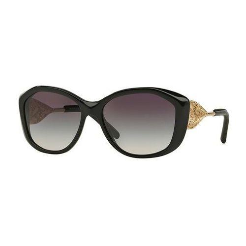 Okulary Słoneczne Burberry BE4208Q Gabardine Lace 30018G, kolor żółty