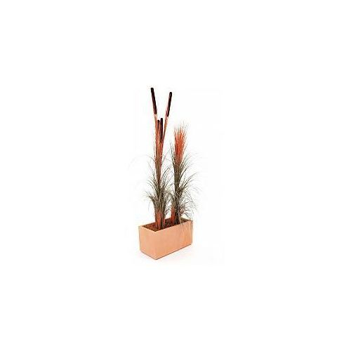 Europalms Reed grass cattails, light-brown, 152cm , Sztuczna trawa