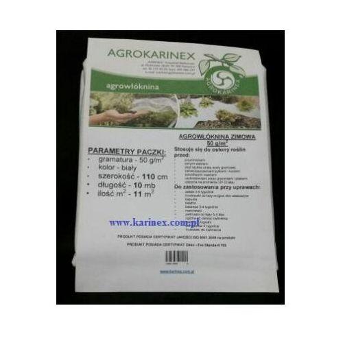 Agrowółknina zimowa pp 50 g/m2 biała 1,1 x 10 mb. marki Agrokarinex