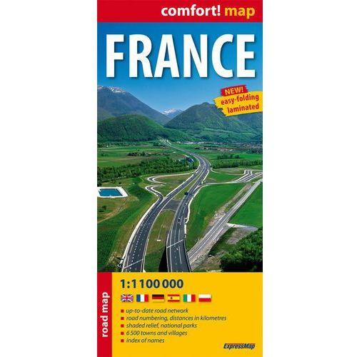 France Road Map 1:1 100 000, książka w oprawie miękkej