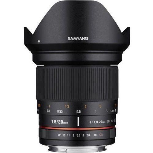 Obiektyw Samyang 20mm F1.8 Canon (F1113501101) Darmowy odbiór w 21 miastach!