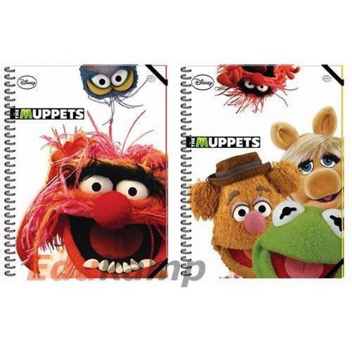 Interdruk Kołobrulion A6/100 kartek w linię Muppets na gumkę Darmowy odbiór w 21 miastach!